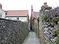 Ancient snicket leading to West End, Kirkbymoorside - geograph.org.uk - 362197.jpg