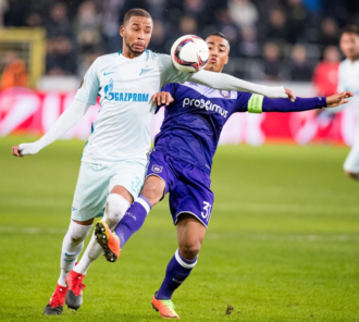 Youri Tielemans - Tielemans captaining Anderlecht against Zenit in the UEFA Europa League's round of 32, 17 February 2017.