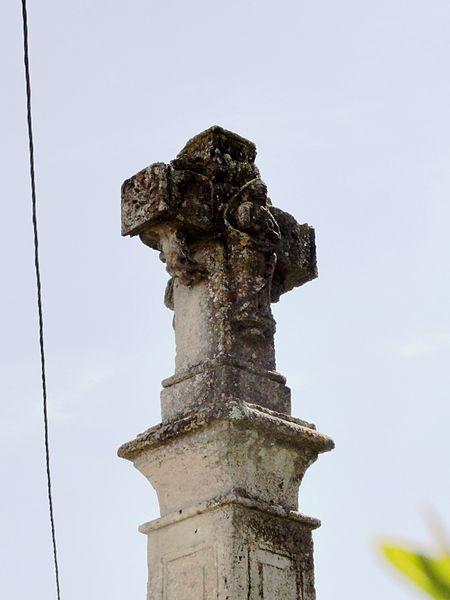 Andernay (Meuse) croix de chemin, verso