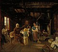 Anders Ekman - Peasant Cottage in Nauvo (War Veteran's Tale) - A I 117 - Finnish National Gallery.jpg