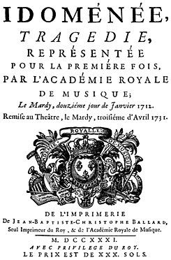 André Campra - Idoménée - title page of the libretto - Paris 1731.jpg