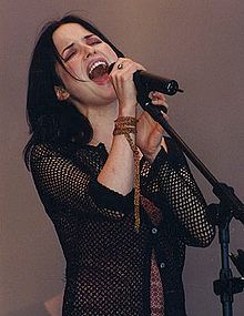Andrea no Festival de Glastonbury 2006