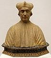 Andrea della robbia, busto di giovanni battista almadiani, da s.g. battista al ponte tremoli, 1510.jpg