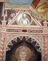 Andrea di bonaiuto, apotesosi di san tommaso d'aquino, scienze ed arti 07 Predicazione e sant'Agostino 1.JPG