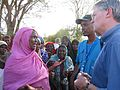 Andrew Mitchell talks to local women in Somalia, 28 Jan 2012 (6851083649).jpg
