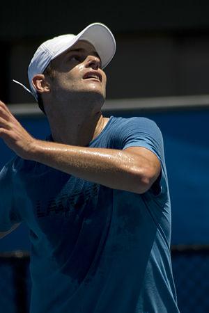 2010 Sony Ericsson Open - Andy Roddick the Men's singles champion of the 2010 Sony Ericsson Open