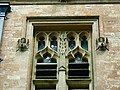 Angels on the tower, Hartham Chapel, Corsham - geograph.org.uk - 1945867.jpg