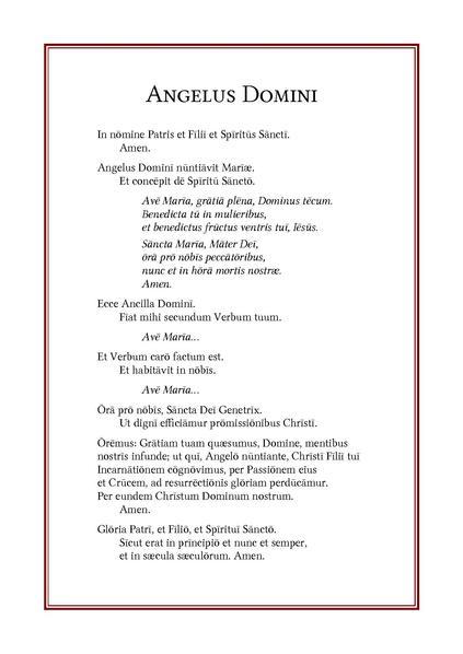 File:Angelus Domini (la) 001.pdf - Wikimedia Commons: https://commons.wikimedia.org/wiki/File:Angelus_Domini_(la)_001.pdf