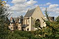 Angers - Château - Le châtelet, la chapelle et la tour du moulin - 20080921.jpg