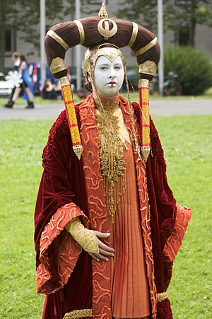 Cosplay: Princess Amidala (Star Wars)