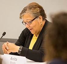 Anita Bonds at DC Long-Term Housing Affordability Roundtable (cropped).jpg