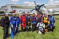 Anna Bieniek 300. skok ze spadochronem, Gliwice 2017.06.11 (02).jpg