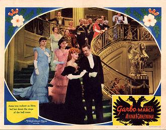 Anna Karenina (1935 film) - Lobby card for Anna Karenina