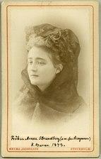 Anna Strandberg, porträtt - SMV - H8 002.tif