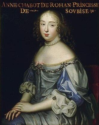 Princess of Soubise - Image: Anne de Rohan Chabot, Princess of Soubise