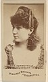 Annie Summerville, Corsair Co., from the Actors and Actresses series (N45, Type 6) for Virginia Brights Cigarettes MET DP831201.jpg