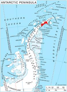 Coast in Antarctica