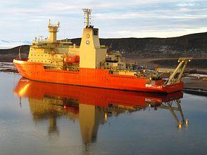 Nathaniel B. Palmer (icebreaker) - Image: Antarctica Nathaniel B Palmer