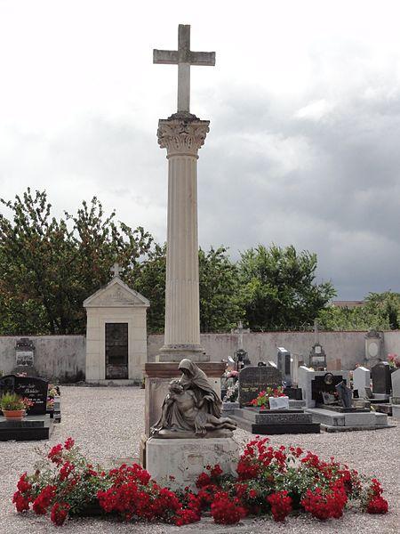 Anthelupt (M-et-M) croix de cimetière