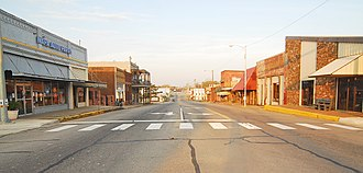 Antlers, Oklahoma - Part of historic downtown Antlers