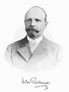 Anton Reichenow German ornithologist