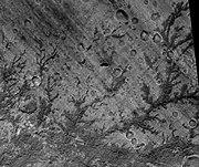 Antoniadi Crater Stream Channels