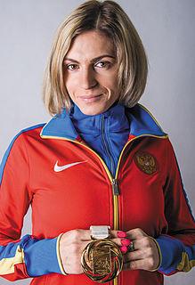 Antonina Krivoshapka Russian 400 metres sprinter