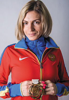 Antonina Krivosjapka in 2013
