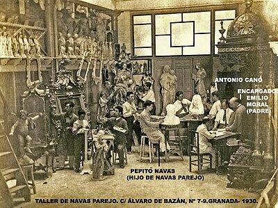 Antonio cano correa wikipedia la enciclopedia libre - Talleres cano madrid ...