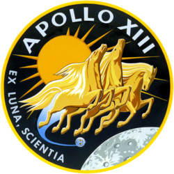 Apollo 13 insignia