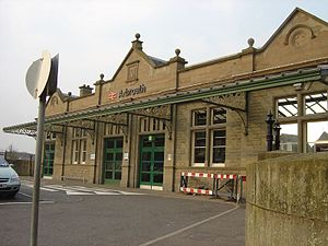 Arbroath railway station - Arbroath railway station