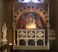 Arca dei robiani, con madonna col bambino e santi dell'ambito di giovannino dei grassi, 1390 ca. 02.jpg