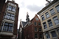 Architecture of Amsterdam, Munttoren clock tower (background). Amsterdam, Netherlands, Northern Europe-2.jpg