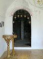 Argokiliotissa Chapel with cave, entrance 13M343.jpg