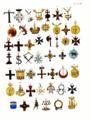 Aristide Michel Perrot - Collection historique des ordres de chevalerie civils et militaires (1820) pl. XXXVIII.png
