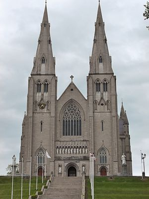 Archbishop of Armagh - St Patrick's Roman Catholic Cathedral, Armagh, the episcopal seat of the Roman Catholic archbishops.
