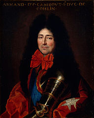 Portrait of Armand de Cambout, duc de Coisllin