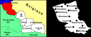 Arrondissement of Dunkirk - Image: Arrondissement dunkerque nord 59
