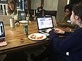 Art+Feminism @ Kickstarter with Black Lunch Table 03.jpg