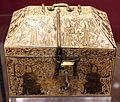 Arte siculo-normanna, reliquiario a cofanetto, avorio, xiv secolo, 01.jpg