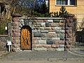 Artistic wall and wicket of Willa Roztoka at I Armii Wojska Polskiego Street in Gdynia.jpg