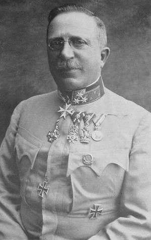 Arthur Arz von Straußenburg - Arthur Freiherr Arz von Straußenburg in 1917