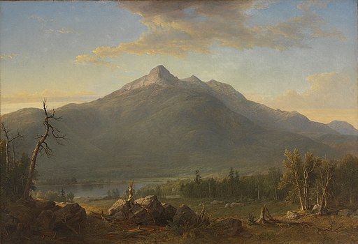 Asher Brown Durand - Chocorua Peak - 52.104 - Rhode Island School of Design Museum