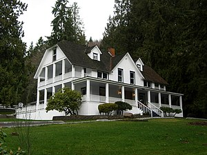National Register of Historic Places listings in Pierce County, Washington - Image: Ashford Mansion