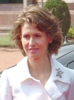 Asma al-Assad British–Syrian First Lady of Syria