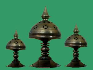 Xorai - A set of Xorais on display