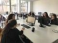 Atelier de contribution Wikipédia, article valorisant les femmes scientifiques en partenariat avec l'ISAE.jpg