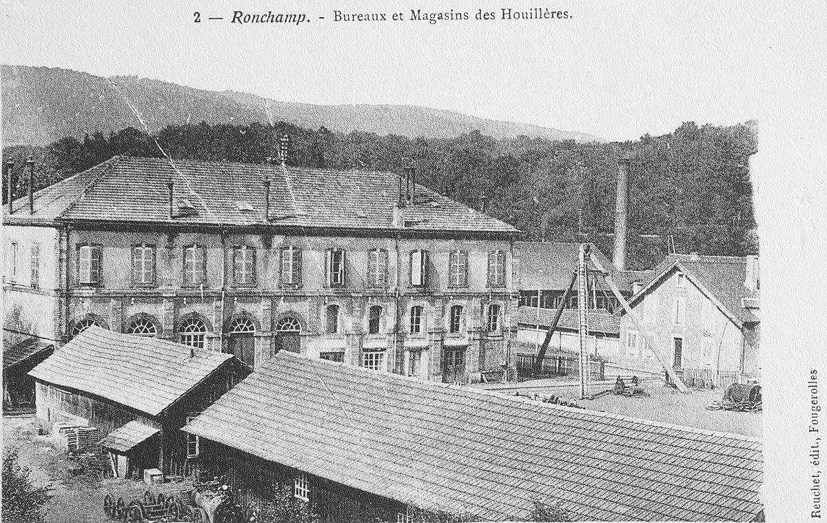 Ateliers centraux et bureaux des houillères de ronchamp u wikipédia