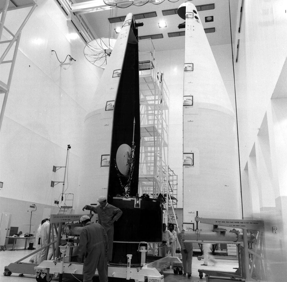 File Atlas Centaur Fairing Installation Around Pioneer Venus 1 Jpg