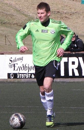 Atli Danielsen - Image: Atli Danielsen 2012 B36 Torshavn